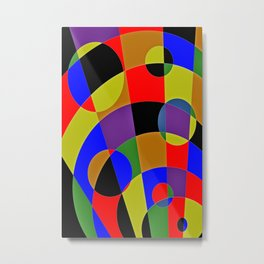 Abstract #95 Gravity Metal Print