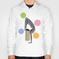 yoga Hoodies featuring Yoga by Lerson