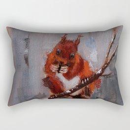 Afternoon Visitor Rectangular Pillow