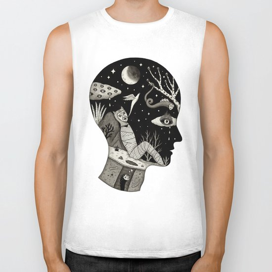 Distorted Recollection of a Dream About Death Biker Tank
