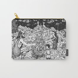 a Mage, a Wizard and a Sorcerer Carry-All Pouch