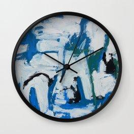 Italian Blue Wall Clock