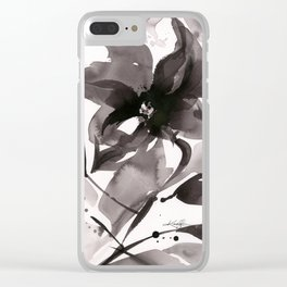 Organic Impressions No. 50 by Kathy Morton Stanion Clear iPhone Case
