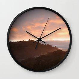 Trinidad Head Sunset Wall Clock