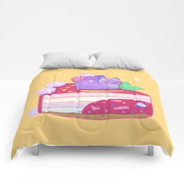Berry Kitty Cake Comforters