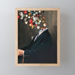 Existentialist / Nelson reflects  (2020) Framed Mini Art Print