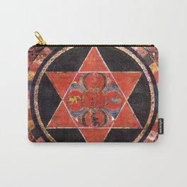 Tantric Buddhist Vajravarahi Five Deity Mandala Carry-All Pouch