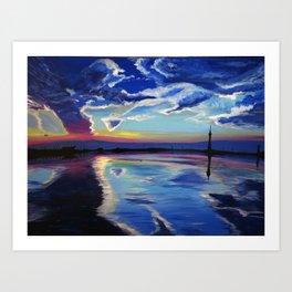 Dreamy Reflections Art Print