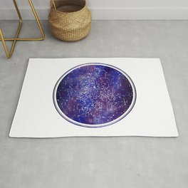 Star Map IV Rug