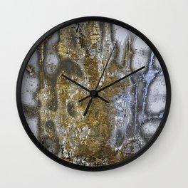 Natural abstract art background Wall Clock