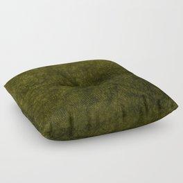 olive green velvet | texture Floor Pillow