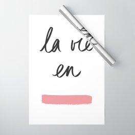 La Vie en Rose x Telma W. Wrapping Paper