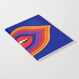Pop Lips Notebook