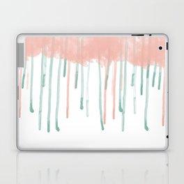 Watercolour rain Laptop & iPad Skin