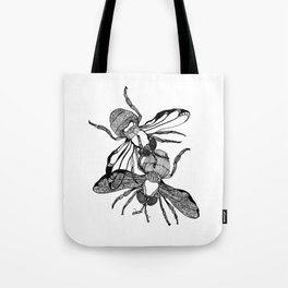 Houseflies Tote Bag