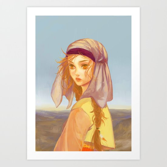 West Art Print