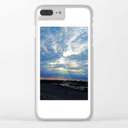 Parting of the Clouds Clear iPhone Case