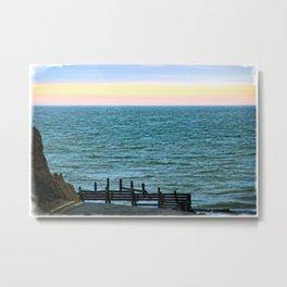 Beach Road Happisburgh Norfolk Metal Print
