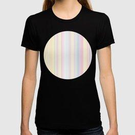 Happy Dream -Elegant Colorful stripe- T-shirt