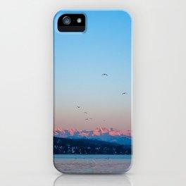 alpenglow iPhone Case
