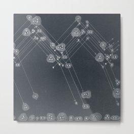 Compound Hailstones Metal Print