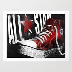 Chucks Poster #1 Art Print