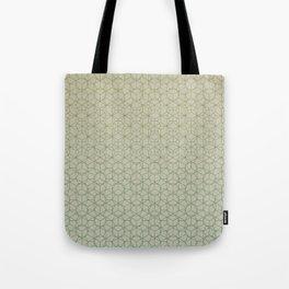 Tessellation - Culture Clash - Polytone Khaki / Sea-green Tote Bag