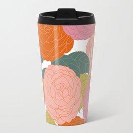 Flowers In Full Bloom Travel Mug