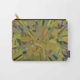"""""""The Green Energy"""" Ecologic atypic art by WHITEECO Ecologic design Carry-All Pouch"""