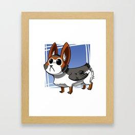 PORGI Framed Art Print