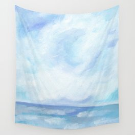 Warm Fall Days - Tropical Ocean Seascape Wall Tapestry