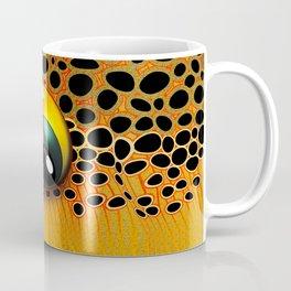 Yellow Brown Trout Eye Coffee Mug