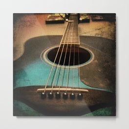 Midnight Strum Metal Print