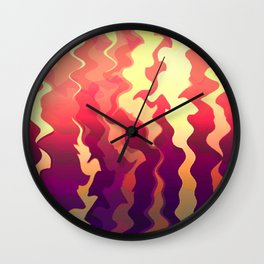 Inner Fire Wall Clock