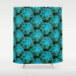 DA FS Triangle Star A1AFB4b S Shower Curtain