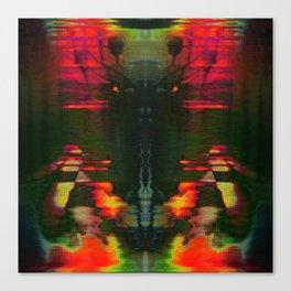 303030 (J Nude Glitch) Canvas Print