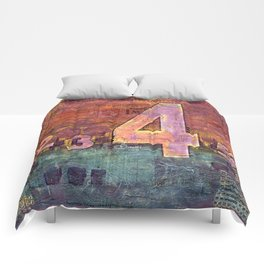 Journey by Number: 4 Comforters