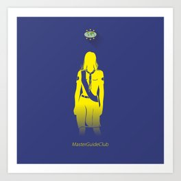 GuiaMayor Dama - Lady MasterGuide Art Print