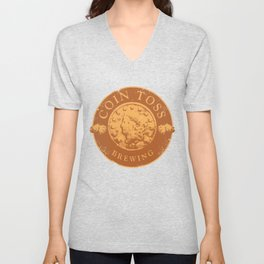 Coin Toss Brewing Unisex V-Neck