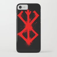 berserk iPhone & iPod Cases featuring Cursed Mark by CaptainSunshine