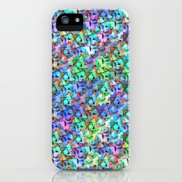 Origami mess iPhone Case
