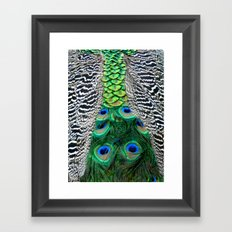 Nature's pattern Framed Art Print