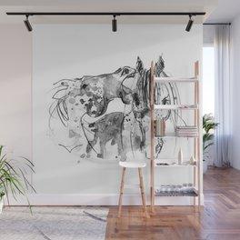 Horses (Socializing) Wall Mural