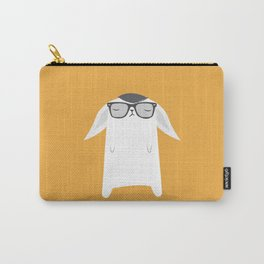 Hipster Bunny Carry-All Pouch