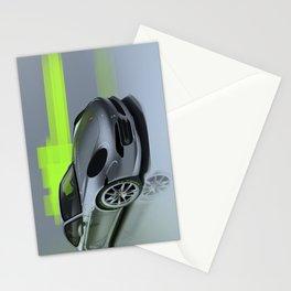 Porsche 911 Digital Painting   Automotive   Car Stationery Cards