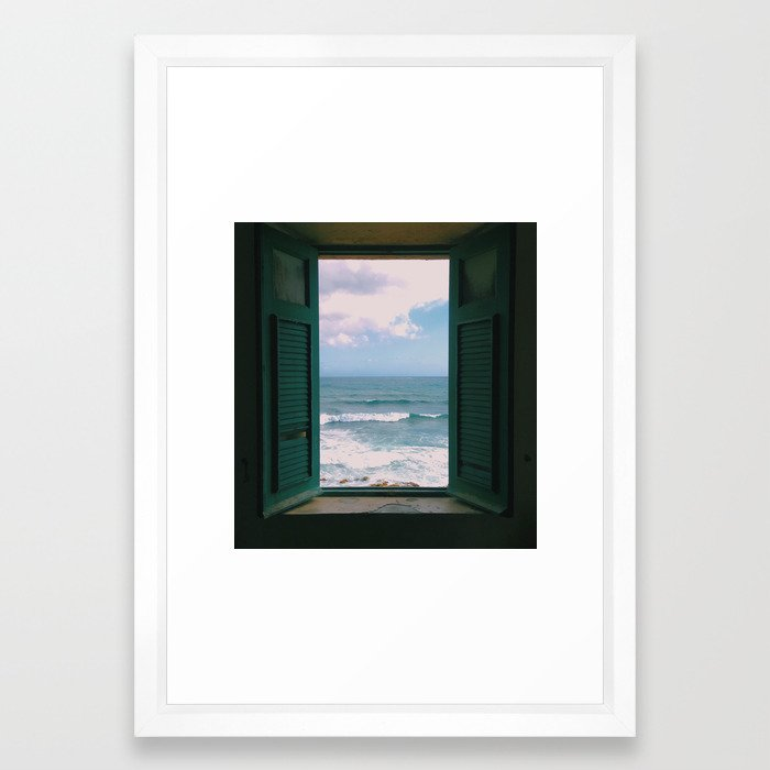 Atlantic Morning Framed Art Print