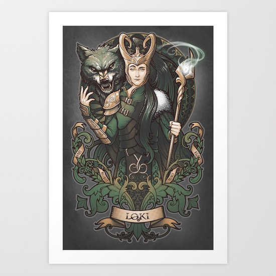 House of Loki: Sons of Mischief Art Print