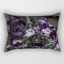 First Snow Of The Season Rectangular Pillow