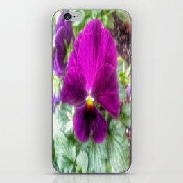Violet Violas iPhone Skin
