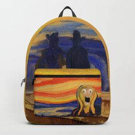 The Screamer - Really Freaked Out Backpack